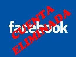 Cuenta eliminada en Facebook