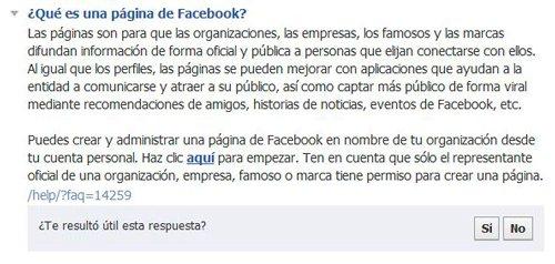 Qué es una página de fans en Facebook