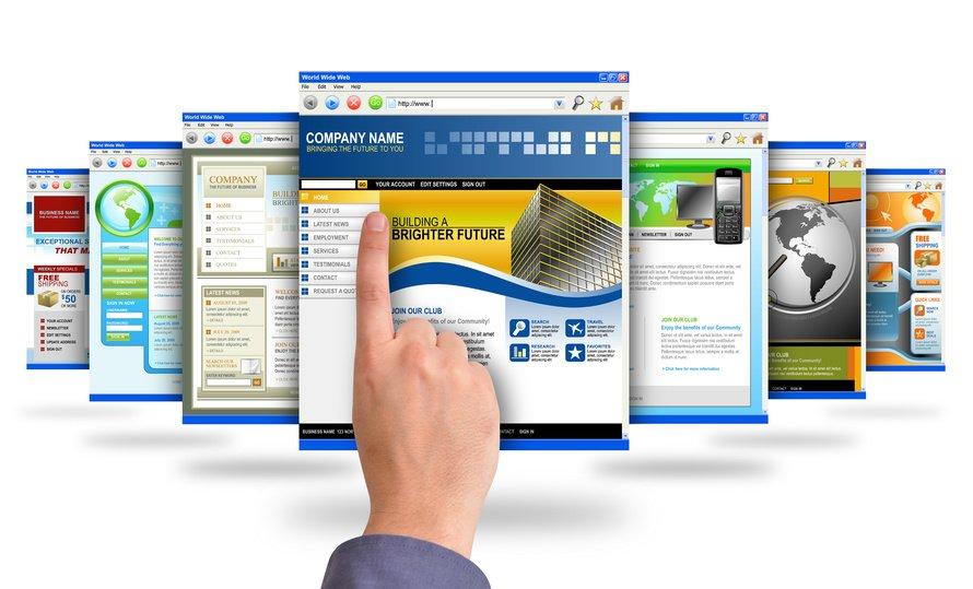 creacion de paginas webs