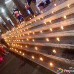 Velitas en el Centro Día del Niño Perdido en Tuxpan, Veracruz