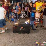Paseo carritos en la calle Juárez - Día del Niño Perdido - Tuxpan