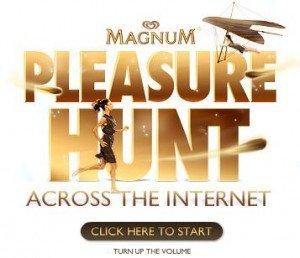 Imagen enlace campaña publicitaria Magnum Pleasure Hunt