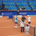 Foto Ferrer vs Melzer Barcelona 2011