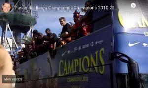 La copa de la Champions llega a Barcelona