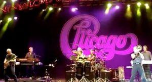 Concierto del Grupo Chicago en Cap Roig (Girona) 2011