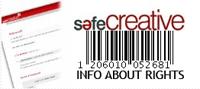Contenido registrado en save Creative