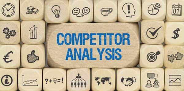 Imagen con texto: Competitor Analysis